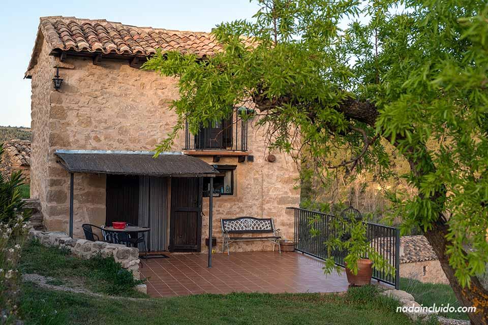 """Alojamiento de Airbnb """"La casita del Matarraña"""", cerca de Valderrobres"""