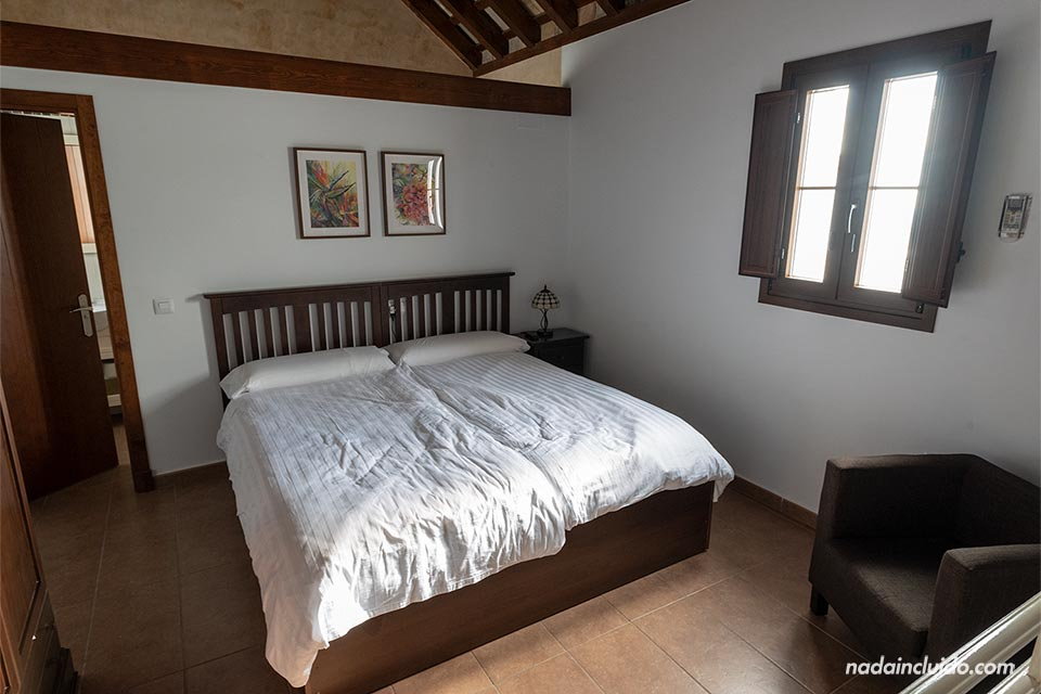 Habitación de la Posada Alegría en Medina Sidonia (Cádiz)