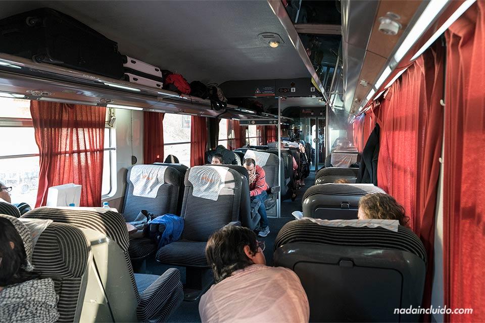 Tren de Marruecos en la ruta Marrakech - Fez