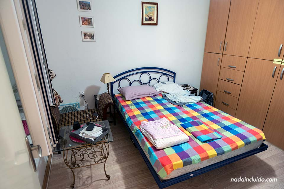 Habitación de apartamento AirBnb en Herceg Novi (Montenegro)