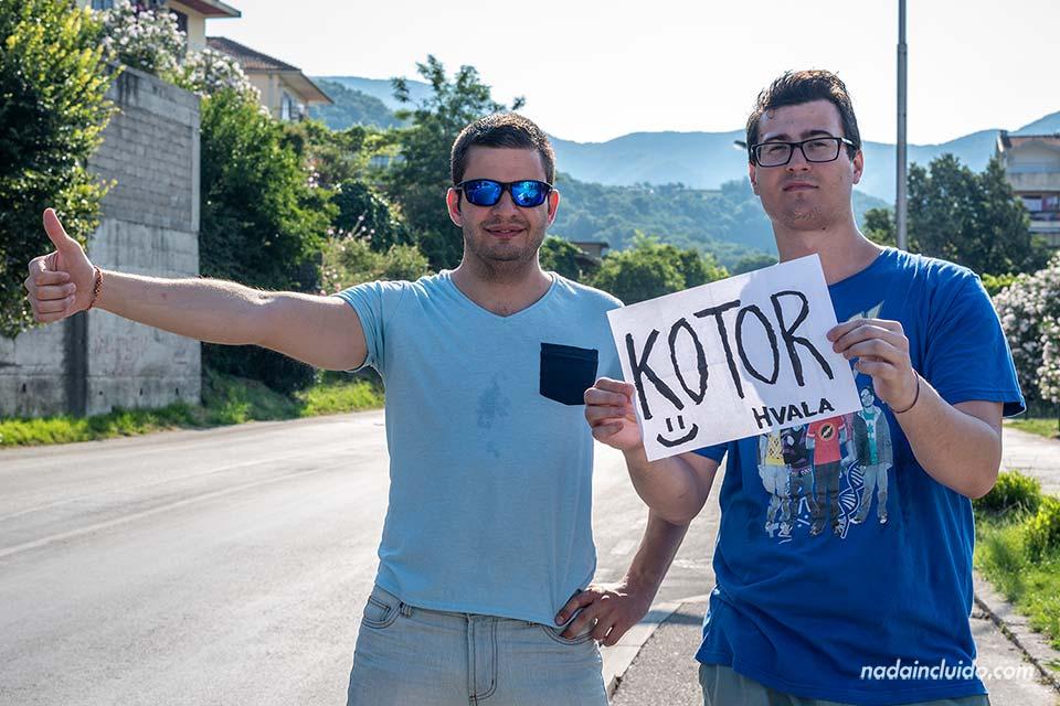 Herceg Novi - Kotor, autostop