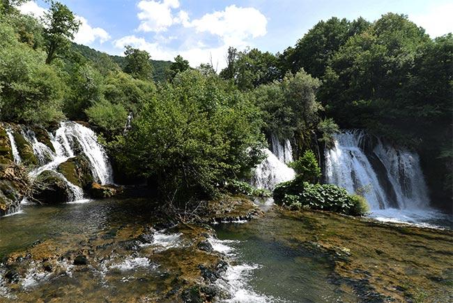 Catarata en Martin Brod (Bosnia)