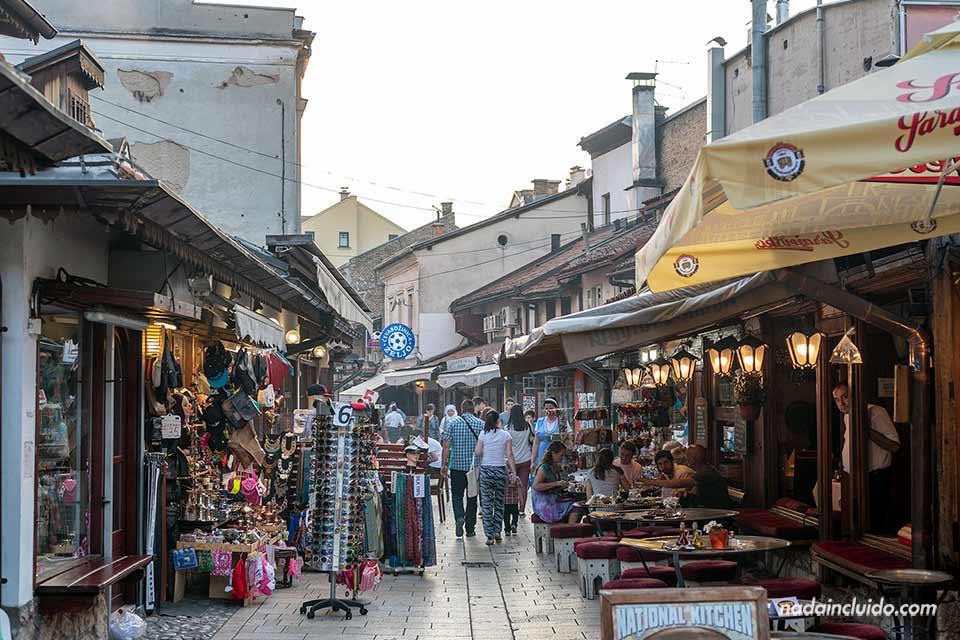 Paseando por el Stari Grad (Old Town) de Sarajevo (Bosnia)