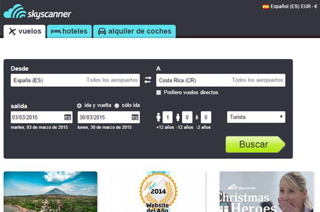 Guía para comprar billetes de avión baratos.  1) Buscar las ciudades más baratas para coger el avión y llegar