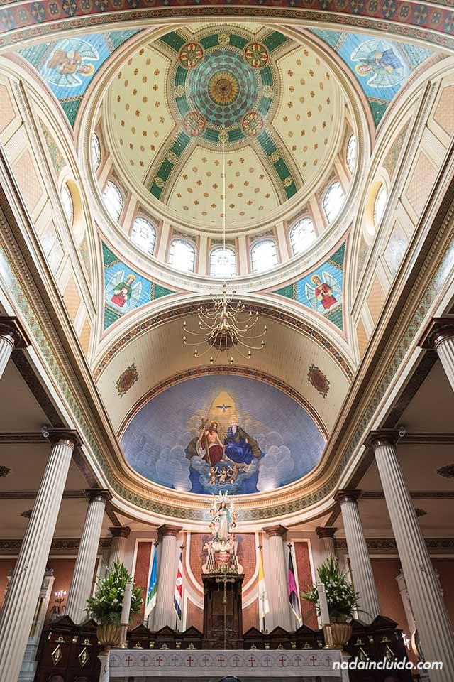 Techo de la catedral de San José (Costa Rica)