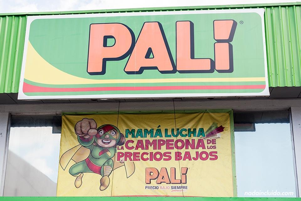 Fachada del supermercado Palí en San José (Costa Rica)