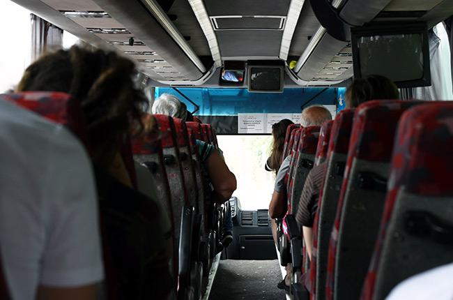 Autobús de Timisoara a Cluj-Napoca (Rumanía)