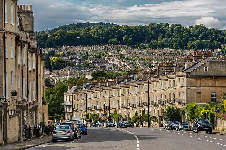 Calle de Bath, Reino Unido (foto de Wikipedia)