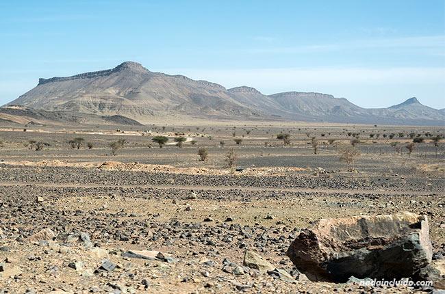 Paisaje desértico en Marruecos