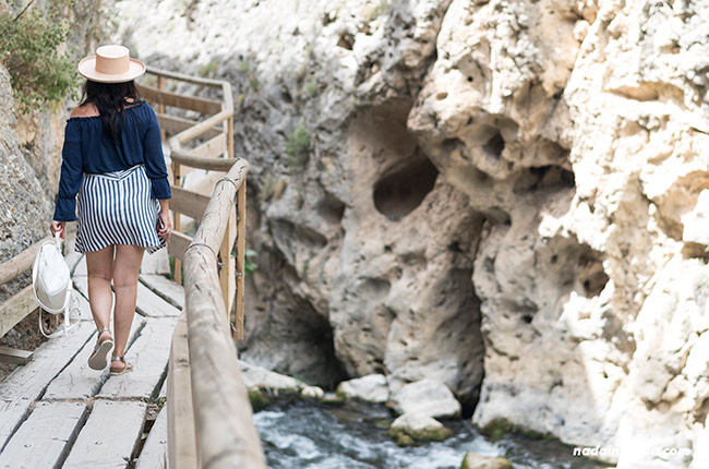 Paseando por el sendero de la cerrada del río Castril (Granada, Andalucía)