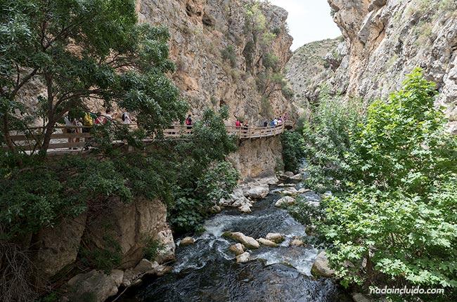 Sendero de la cerrada del río Castril (Granada, Andalucía)