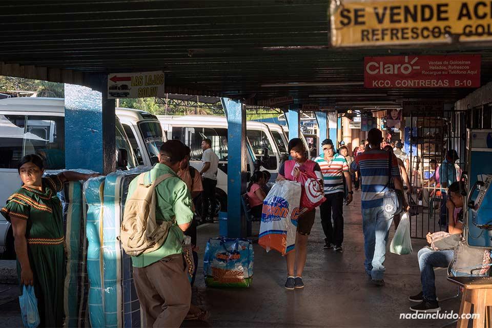 Terminal de buses de la ciudad de David (Panamá)