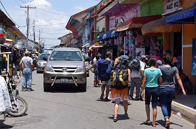 Paseando por el mercado de Granada (Nicaragua)