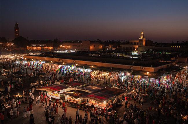 Marraketch, Marruecos