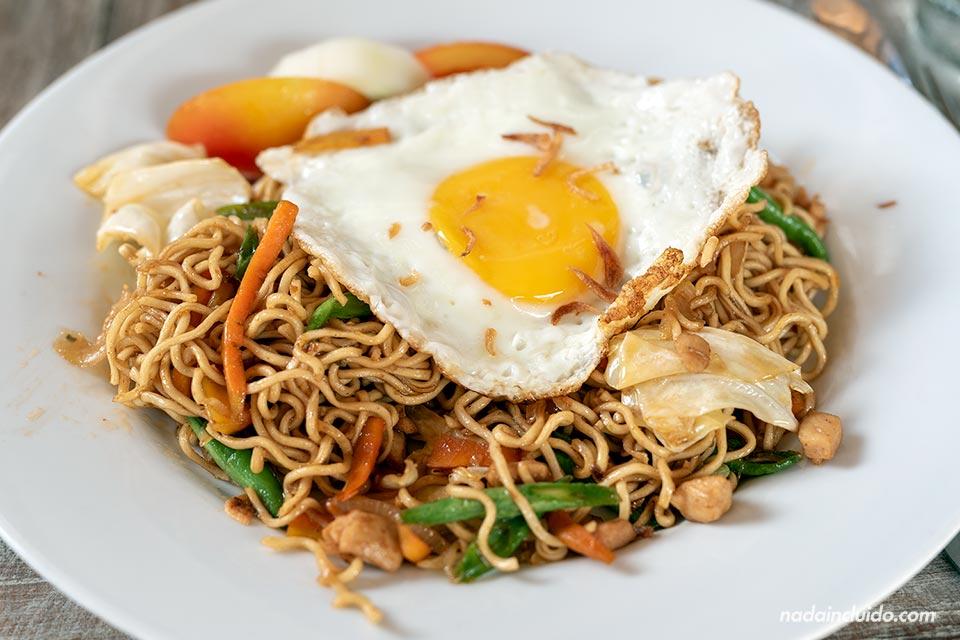 Mie Goreng - Plato de comida indonesia
