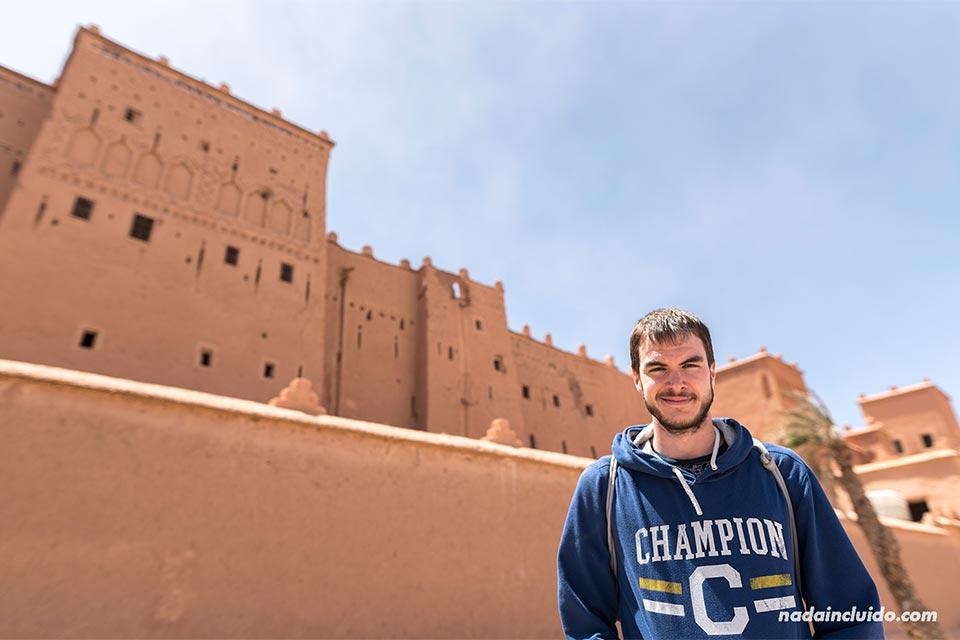 En el Kasbah Taourirt, Ouarzazate (Marruecos)
