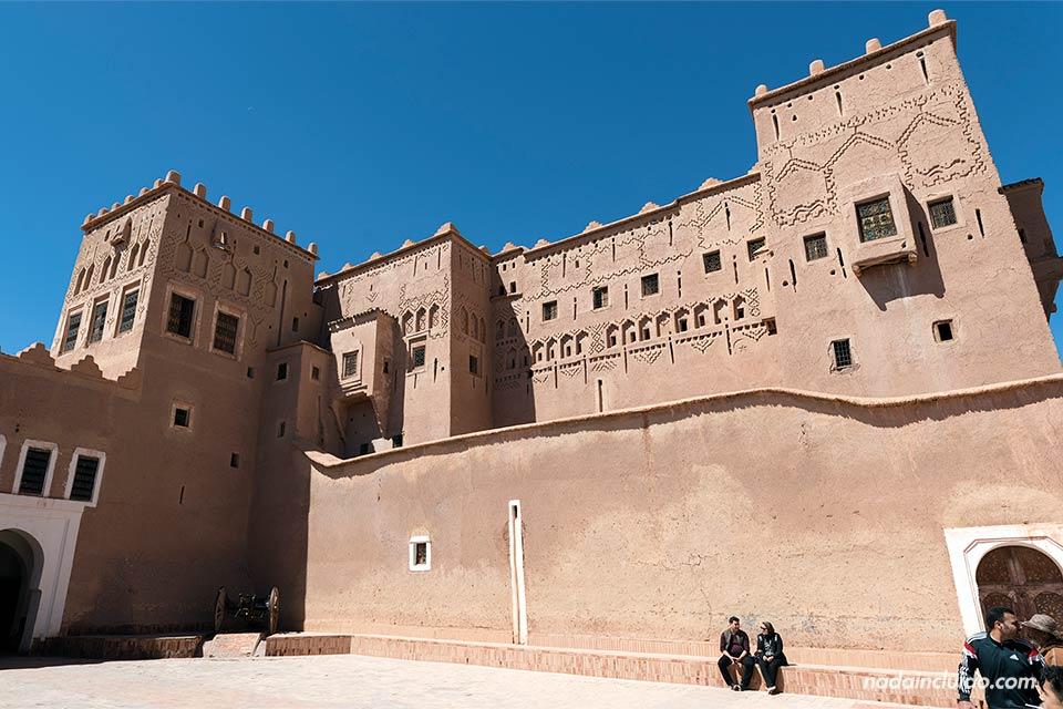 Fachada del Kasbah Taourirt, Ouarzazate (Marruecos)