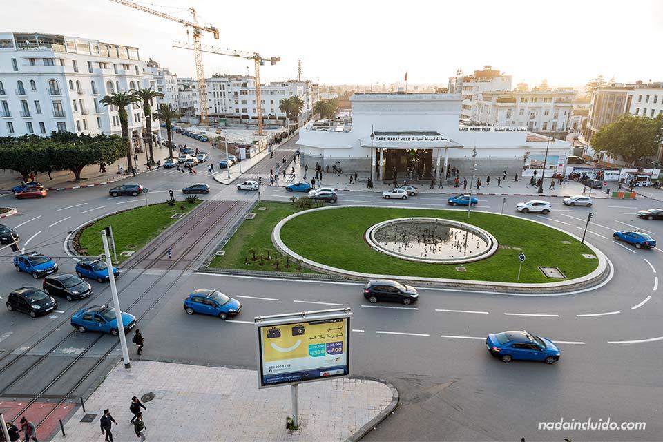 Estación de trenes de Rabat (Marruecos)