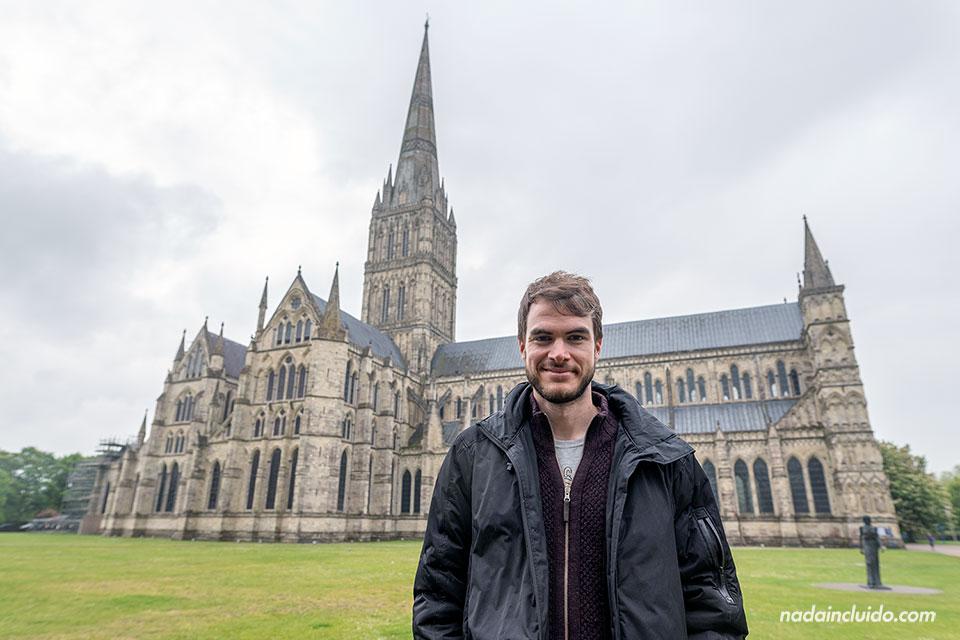Visitando la catedral de Salisbury (Inglaterra)