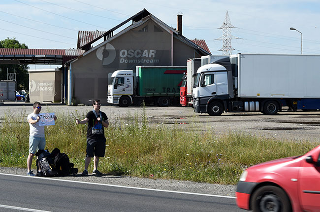 Haciendo autostop entre Turda y Timisoara (Rumanía)