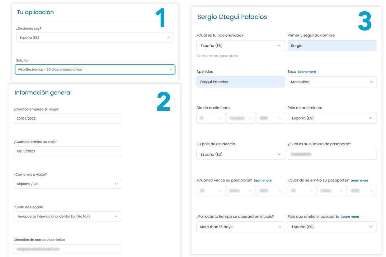 Tipos de visado en Vietnam en la web de iVisa