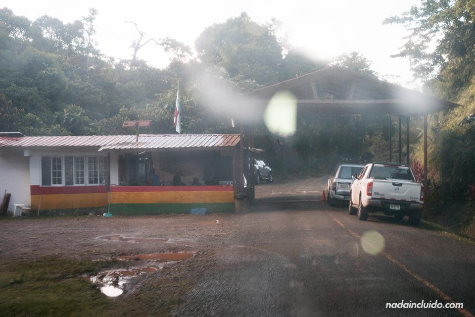 Frontera a la comarca Guna Yala (Panamá)