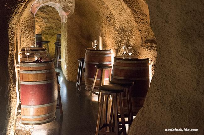 Calados de la Hospedería de los parajes en Laguardia (Rioja Alavesa, España)