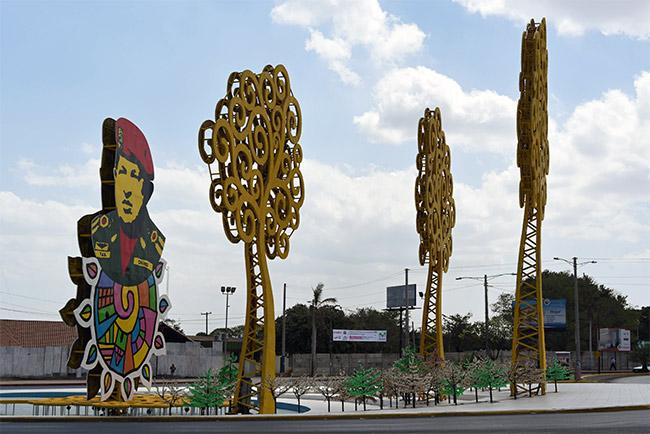 Rotonda Hugo Chávez, Managua (Nicaragua)