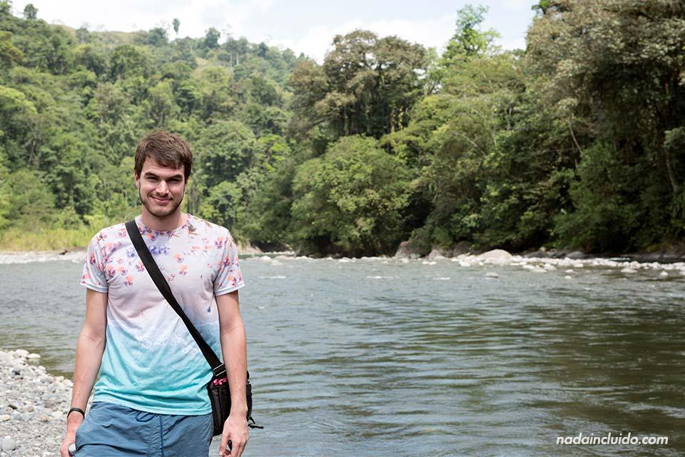 En el Río Pacuare (Costa Rica)