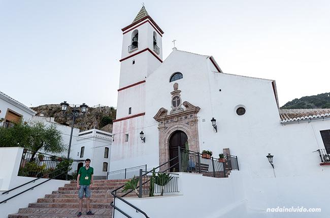 En la iglesia de Santiago Apóstol de Casarabonela (Málaga)