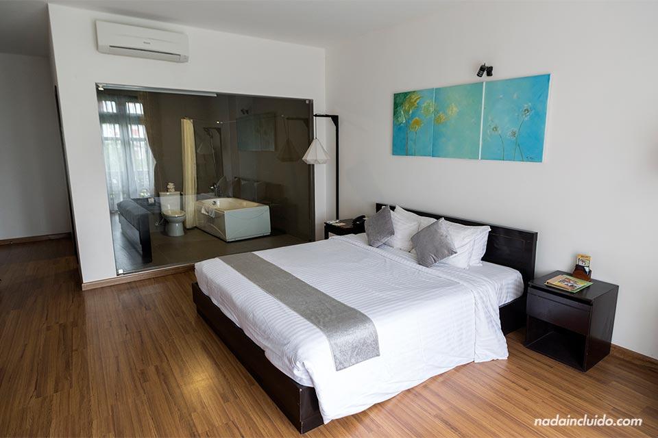 Habitación del hotel Phu Thin, en Hoi An (Vietnam)