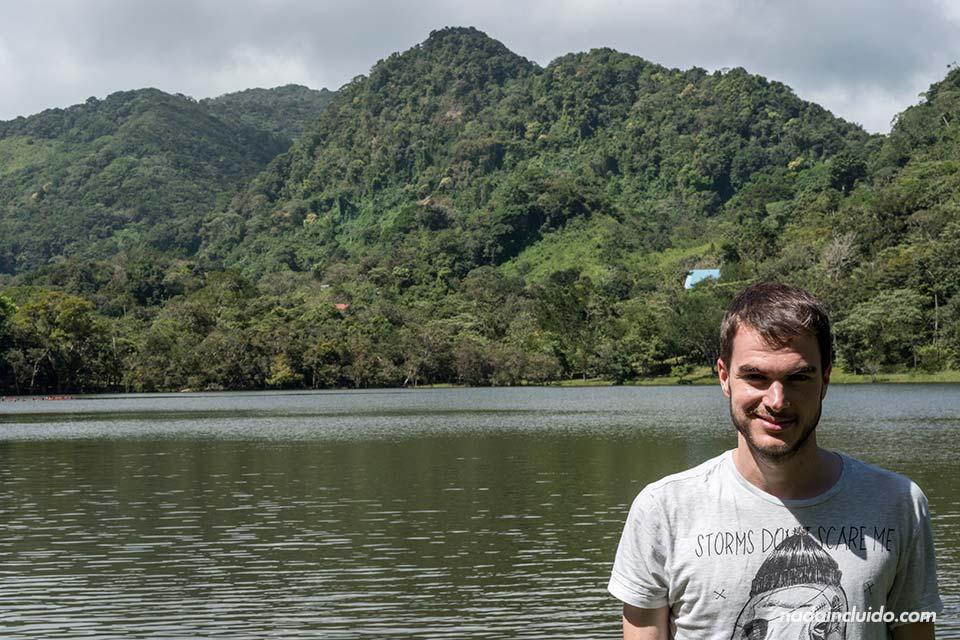 De visita en la laguna de San Carlos (Panamá)
