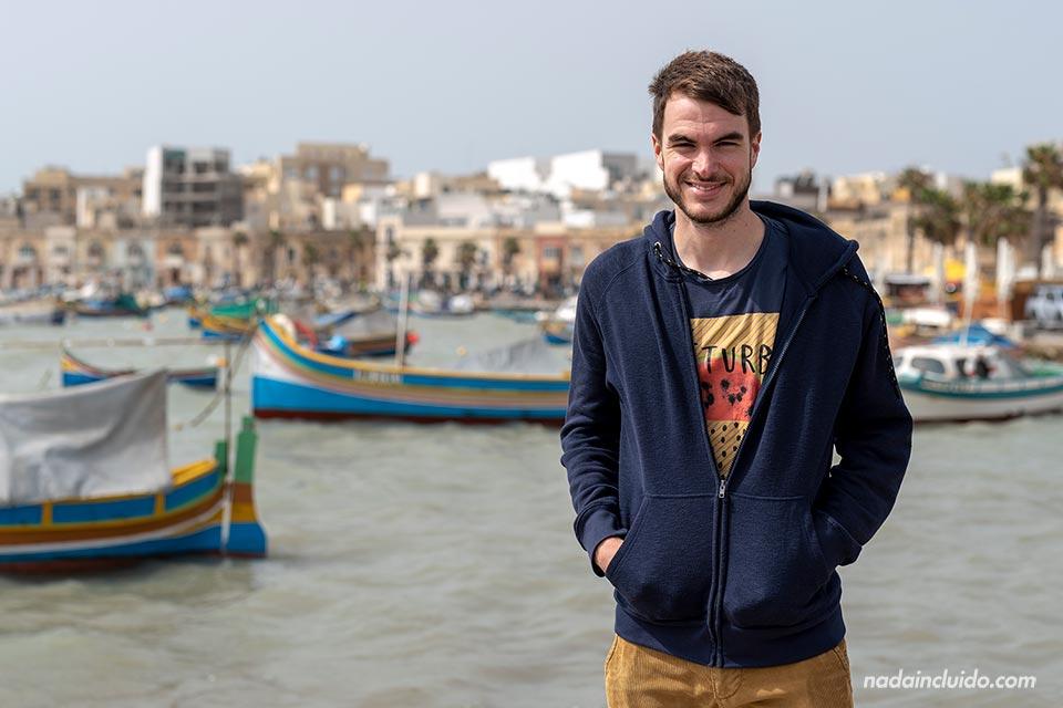En el pueblo pesquero de Marsaxlokk (Malta)