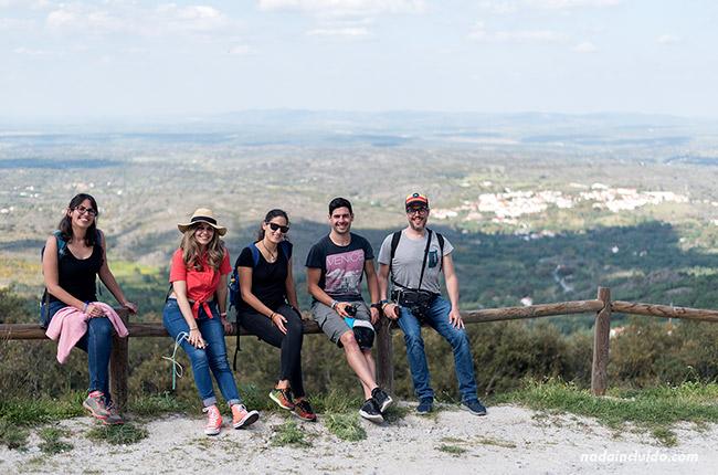 Vistas del Alentejo desde lo alto de Marvao (Portugal)