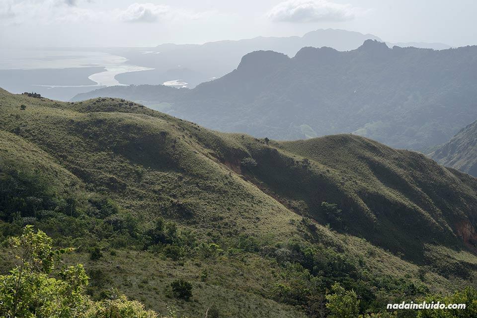 Vistas desde el mirador Cerro Campana (Panamá)