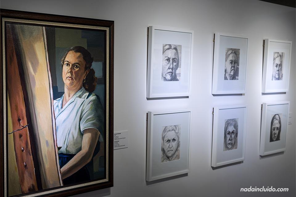Exposición de la pintora Margarita Quesada en el Museo del Oro Precolombino en San José (Costa Rica)