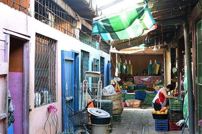 Mercado en San Juan del Sur (Nicaragua)