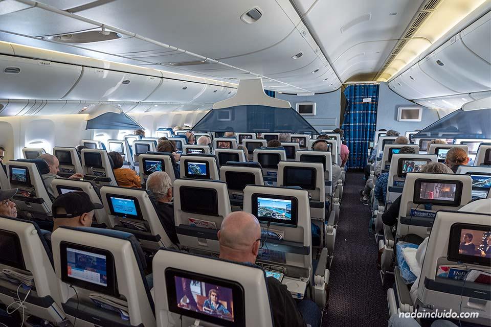 Avión de KLM en la ruta Amsterdam - Singapur