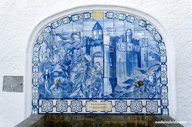 Fuente en Casarabonela (Málaga)