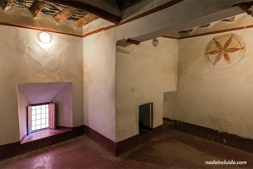 Una habitación del Kasbah Taourirt, Ouarzazate (Marruecos)