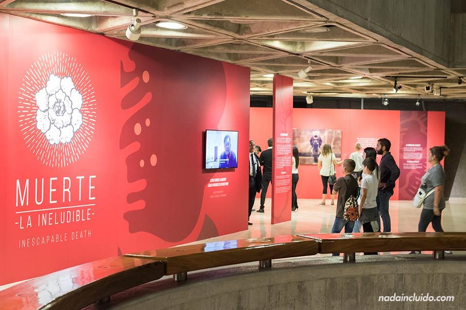 Exposición sobre la muerte en el Museo del Oro Precolombino de San José (Costa Rica)