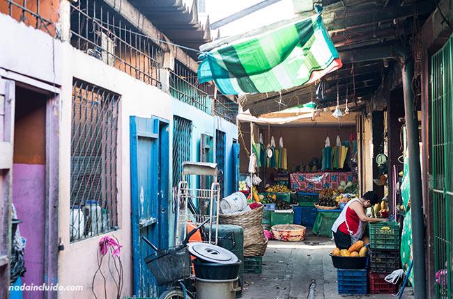 Parte trasera del mercado de San Juan del Sur (Nicaragua)