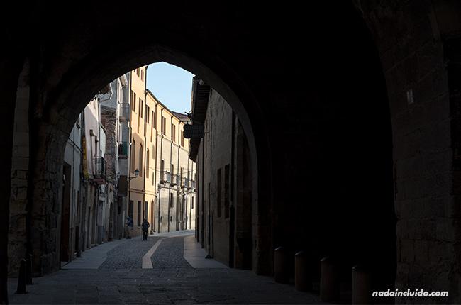 Casco antiguo de Santo Domingo de la Calzada (Rioja, España)