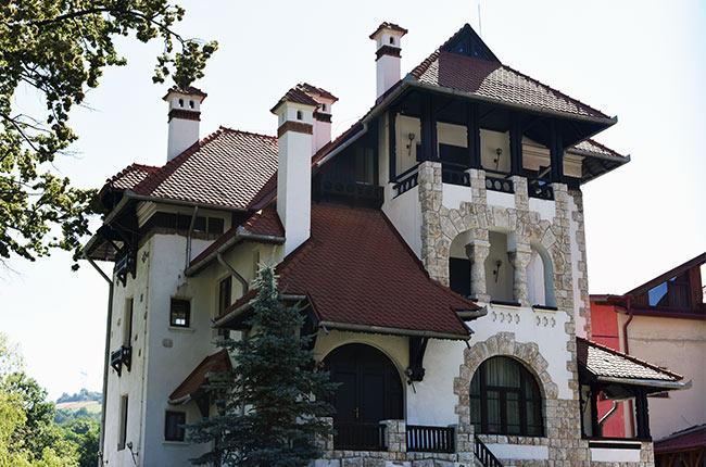 Hotel Villa en Bran (Rumanía)