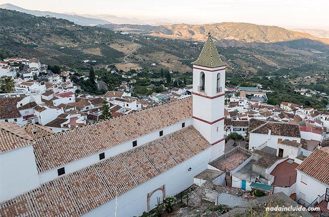 Vistas de Casarabonela desde el castillo (Málaga)