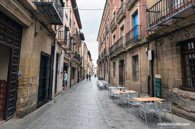Calle Mayor, Santo Domingo de la Calzada (Rioja, España)
