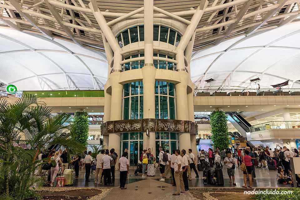 Aeropuerto internacional de Denpasar, en la isla de Bali (Indonesia)