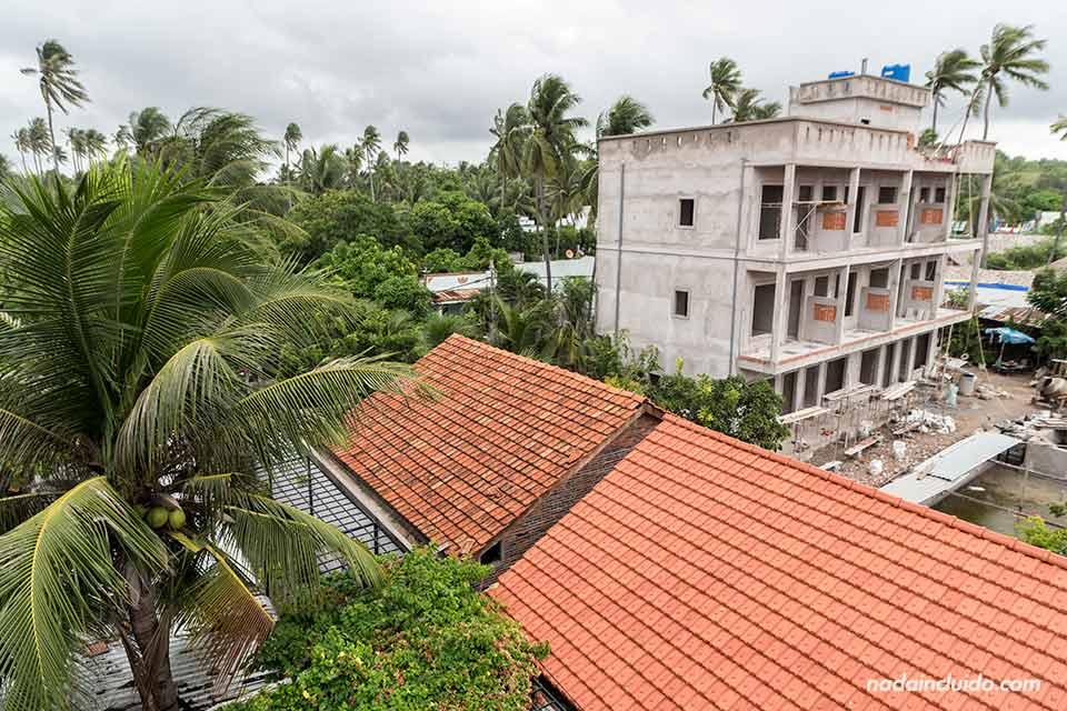 Vistas desde el Mui Ne Sports Hotel (Vietnam)