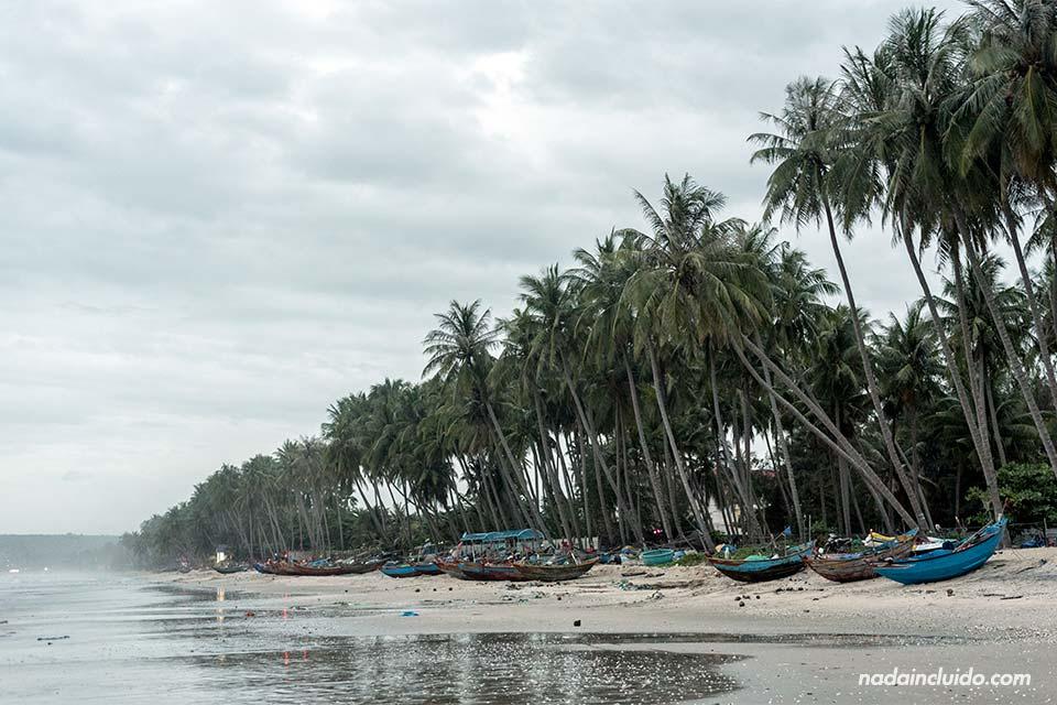 Atardecer en las playas de Mui Ne (Vietnam)