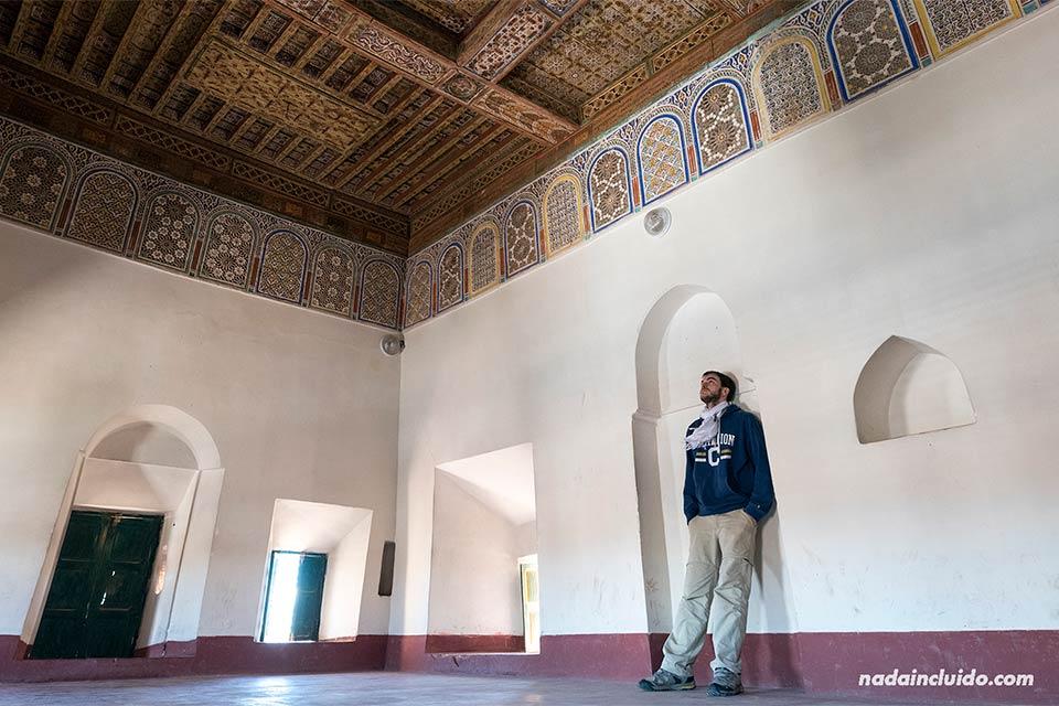 En una habitación del Kasbah Taourirt, Ouarzazate (Marruecos)